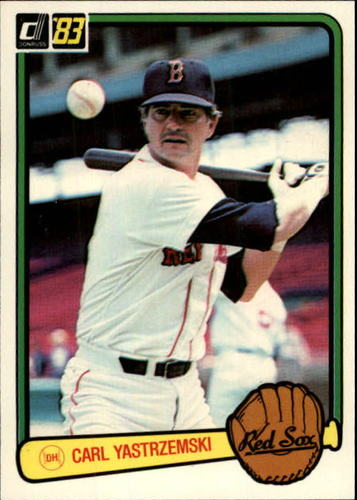 Photo of 1983 Donruss #326 Carl Yastrzemski