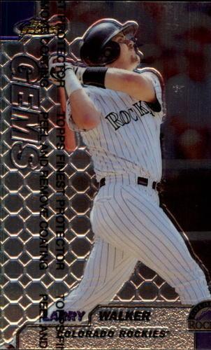 Photo of 1999 Finest #117 Larry Walker GEM