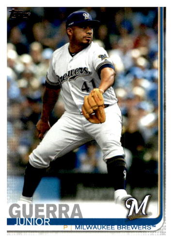 Photo of 2019 Topps Update #US64 Junior Guerra