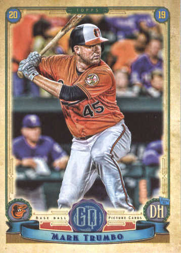 Photo of 2019 Topps Gypsy Queen #60 Mark Trumbo