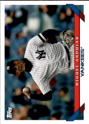 Photo of 2019 Topps Archives #245 Miguel Andujar
