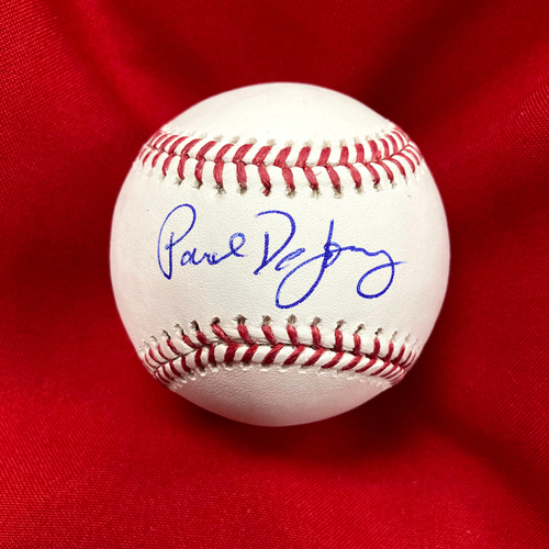 Photo of Paul DeJong Autographed Baseball