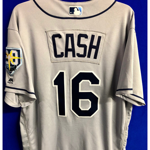 Photo of Team Issued 20th Anniversary Jersey: Kevin Cash