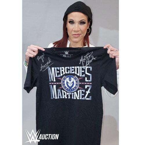 Mercedes Martinez SIGNED Authentic T-Shirt
