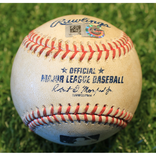 Photo of Game-Used Baseball: Niko Goodrum 246th Career Hit (DET @ KC 9/26/20)