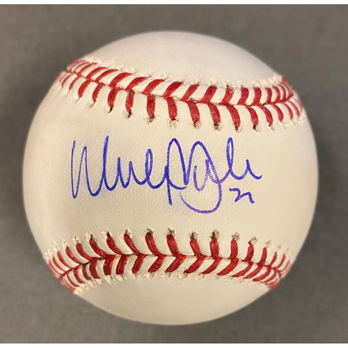 Photo of Walker Buhler Authentic Autographed Baseball