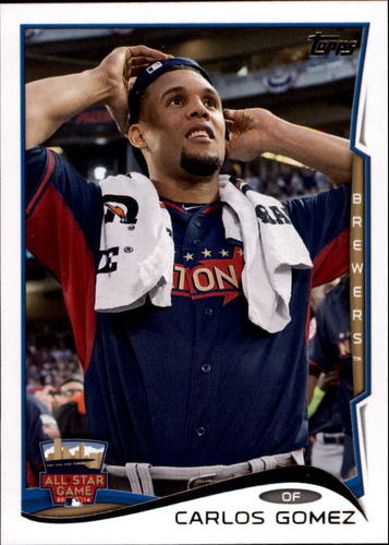 Photo of 2014 Topps Update #US315 Carlos Gomez