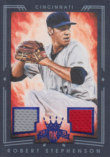 Photo of 2015 Diamond Kings DK Materials Framed Blue #223 Robert Stephenson/25