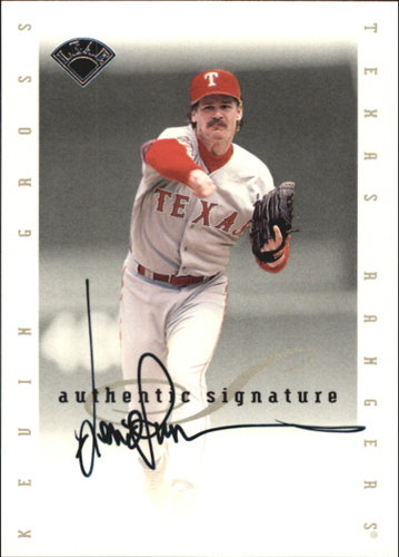 Photo of 1996 Leaf Signature Extended Autographs #64 Kevin Gross
