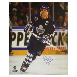 fa1b27f8dd3 Doug Gilmour Autographed Toronto Maple Leafs 16X20 CanvasDoug Gilmour Autographed  Toronto Maple Leafs 16X20 Canvas