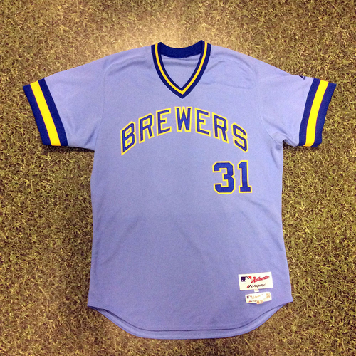 Carlos Subero Game-Used 1976 Throwback Jersey