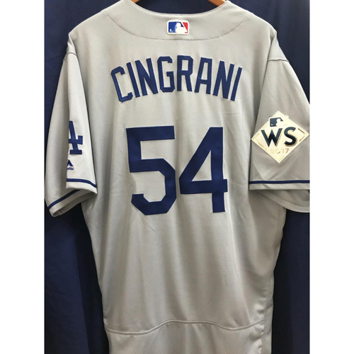 Photo of Tony Cingrani 2017 Road World Series Team-Issued Jersey