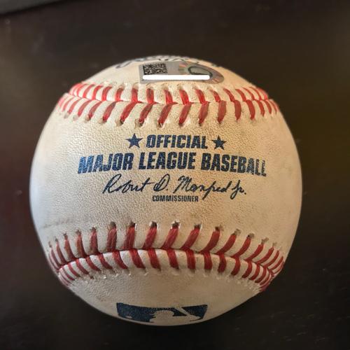 Photo of 4/30/18 Ken Giles to Giancarlo Stanton Foul Ball (9th inning)