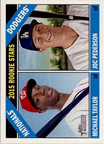 Photo of 2015 Topps Heritage #11 Michael Taylor RC/Joc Pederson RC