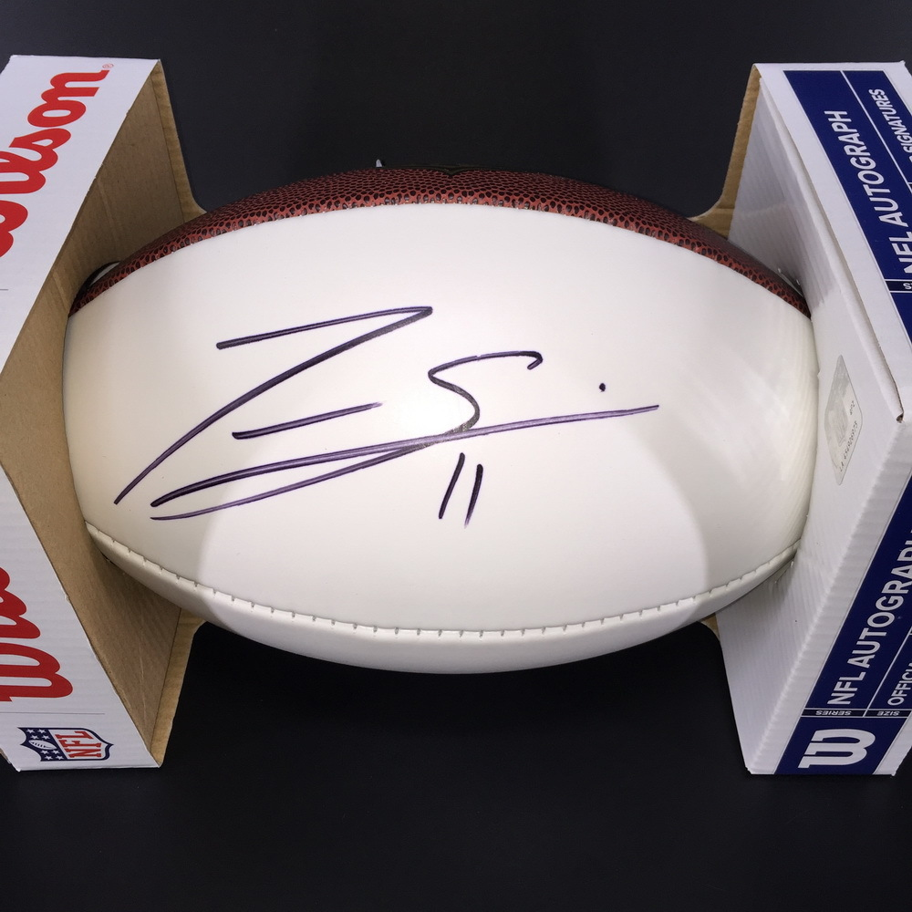 Panthers - Torrey Smith Signed Panel Ball