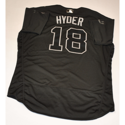 """Photo of Brandon """"HYDER"""" Hyde Baltimore Orioles Game-Used 2019 Players' Weekend Jersey"""