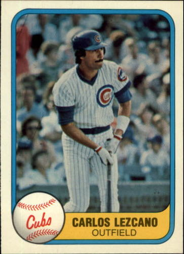 Photo of 1981 Fleer #307 Carlos Lezcano RC