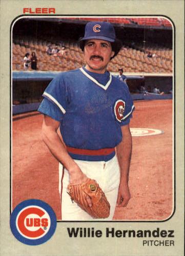 Photo of 1983 Fleer #497 Willie Hernandez