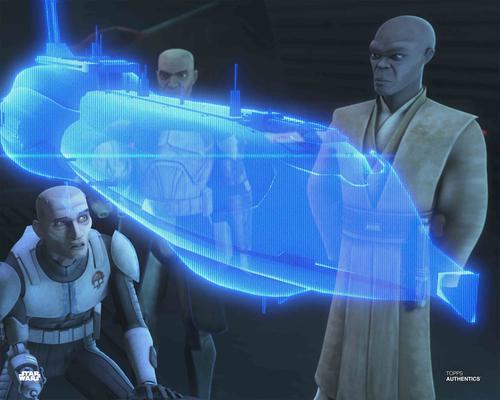 Mace Windu and Clone Troopers
