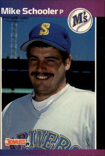Photo of 1989 Donruss #637 Mike Schooler
