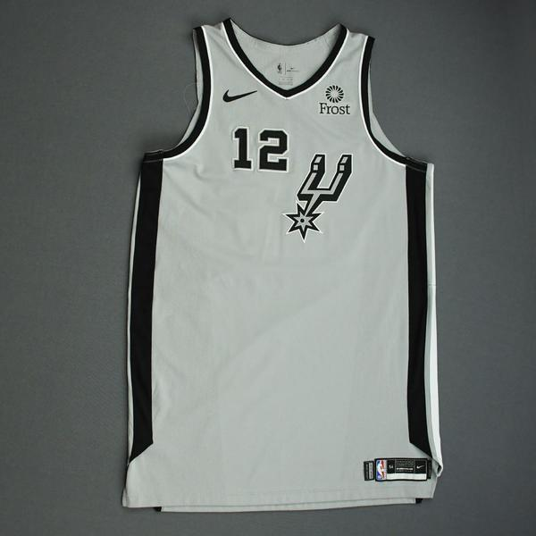 Image of LaMarcus Aldridge - San Antonio Spurs - Game-Worn Statement Edition Jersey - NBA Mexico Games - 2019-20 NBA Season