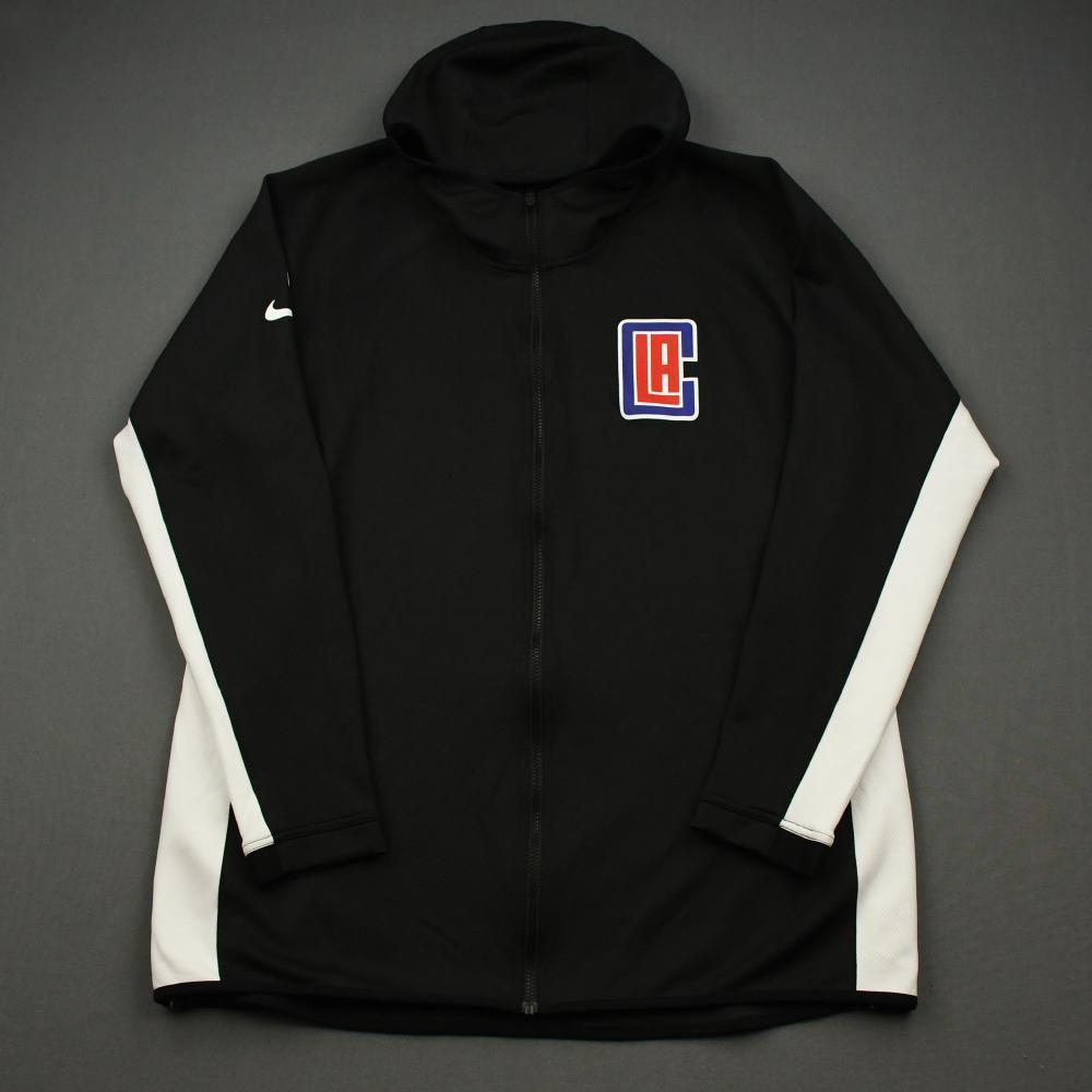 Landry Shamet - Los Angeles Clippers - Game-Issued Earned Edition Game Theater Jacket - 2019-20 NBA Season