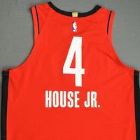 Danuel House Jr. - Houston Rockets - Game-Worn Icon Edition Jersey - 2019-20 NBA Season Restart