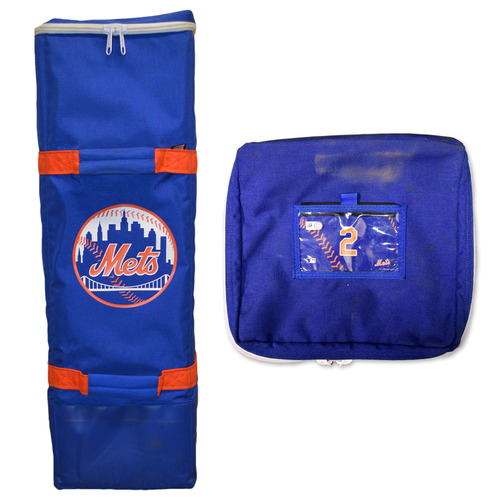 Photo of Team Issued Mets Bat Bag - #2 - 2020 Season