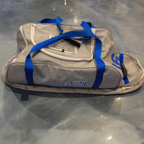 Photo of Game-Used Spring Training Bag: Kelvin Gutierrez #16 (SF @ KC 2/28/20)