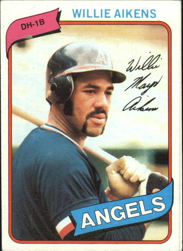 Photo of 1980 Topps #368 Willie Aikens RC