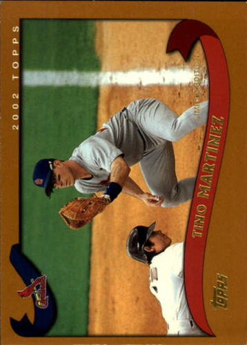 Photo of 2002 Topps Limited #525 Tino Martinez