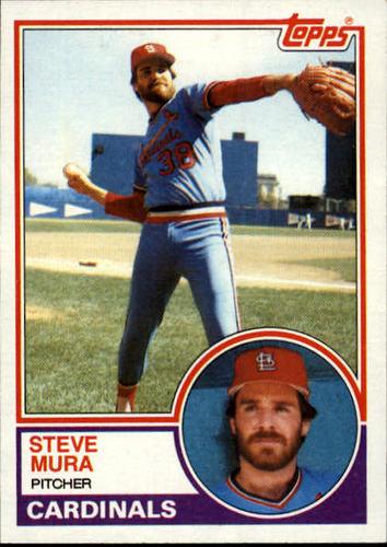 Photo of 1983 Topps #24 Steve Mura