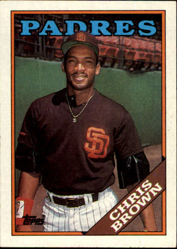 Photo of 1988 Topps #568 Chris Brown