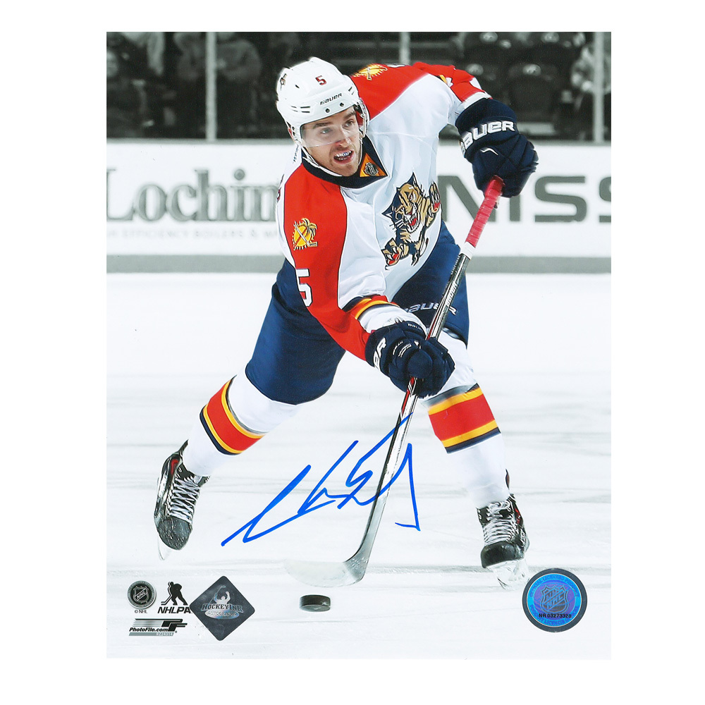 AARON EKBLAD Signed Florida Panthers 8 X 10 Photo - 70335