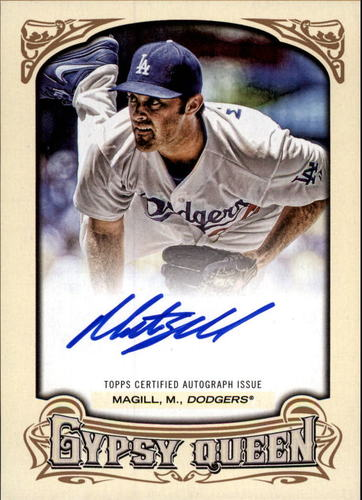 Photo of 2014 Topps Gypsy Queen Autographs #GQAMMA Matt Magill