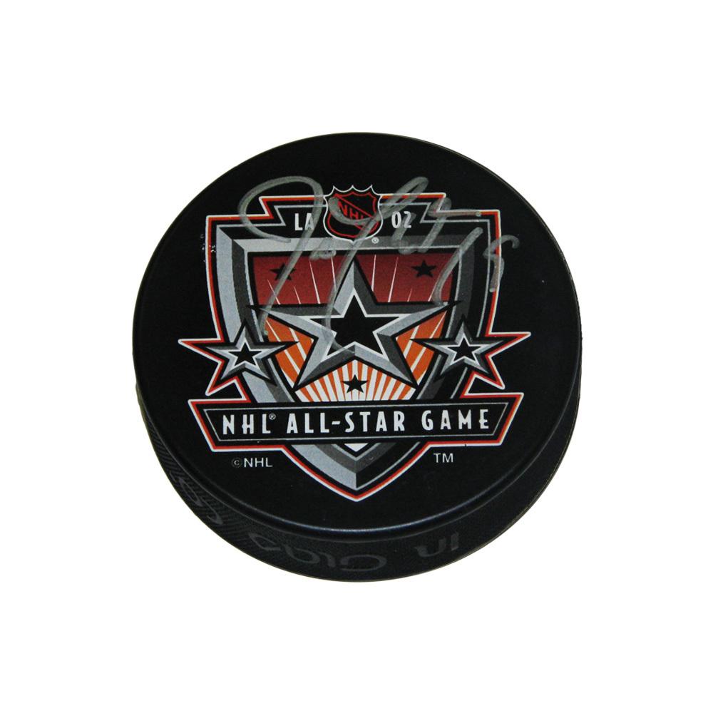 JOE THORNTON Signed 2002 All-Star Puck - Boston Bruins