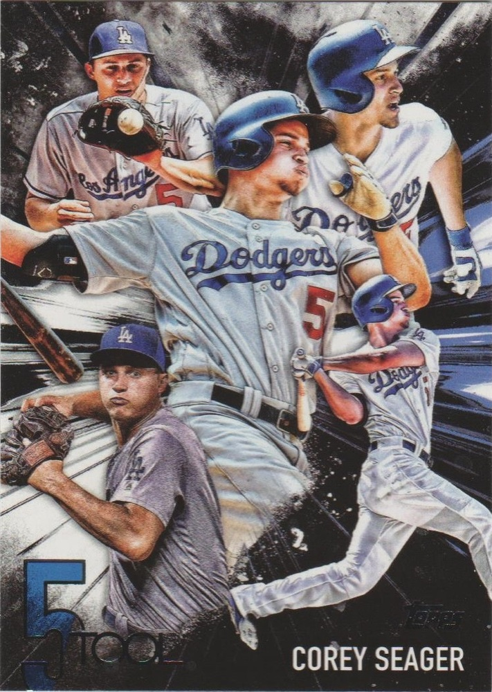 2017 Topps Five Tool #5T20 Corey Seager