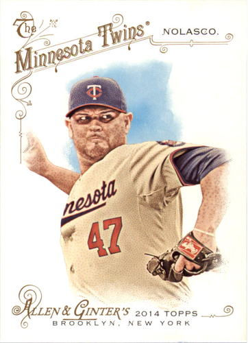 Photo of 2014 Topps Allen and Ginter #258 Ricky Nolasco