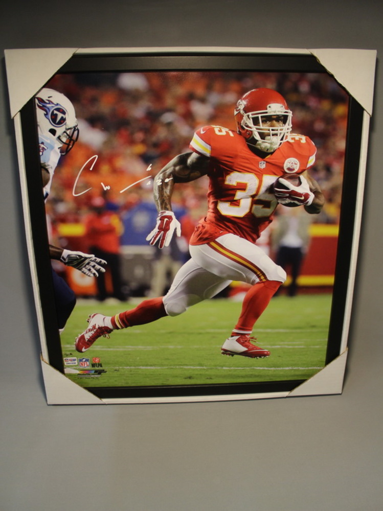 CHIEFS - CHARCANDRICK WEST SIGNED 16x20 GLOSSY PHOTO