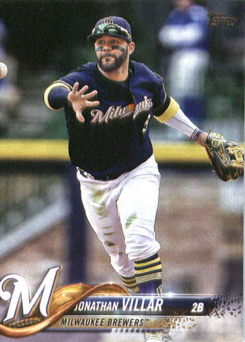Photo of 2018 Topps #289 Jonathan Villar