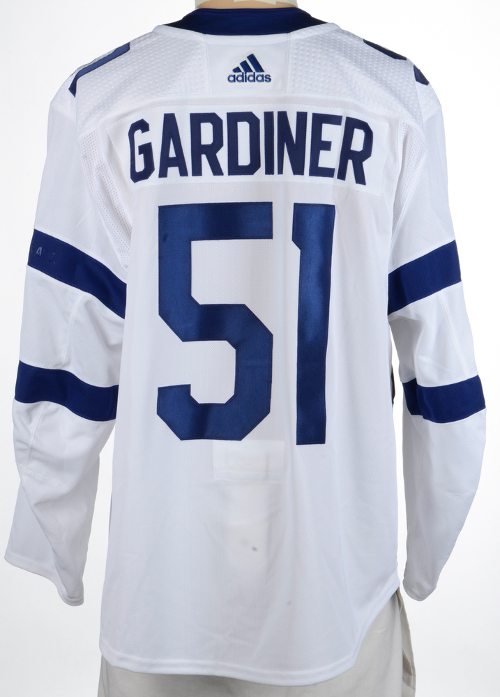 Jake Gardiner Toronto Maple Leafs Game-Worn 2018 NHL Stadium Series Jersey