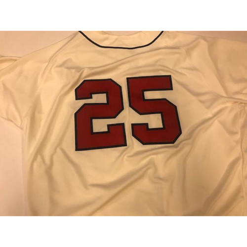 Photo of Game-Used Detroit Stars Jersey: Dave Clark