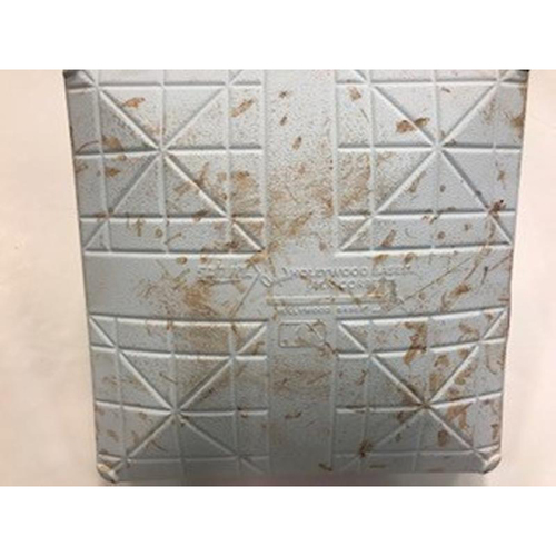 Photo of 2018 Game-Used Mother's Day Base