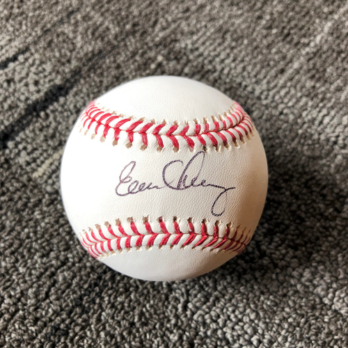 Photo of San Francisco Giants - Autographed Baseball - Evan Longoria