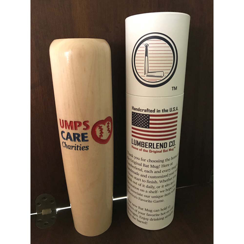 Photo of UMPS CARE AUCTION: UMPS CARE Logo Baseball Bat Mugs from Lumberlend