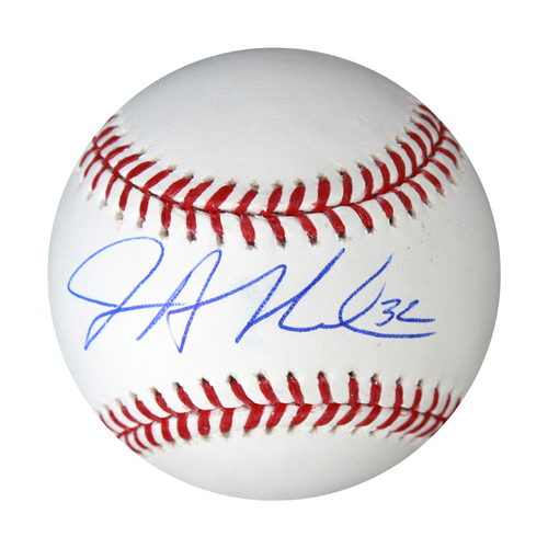 Photo of Autographed Baseball: Jesse Hahn