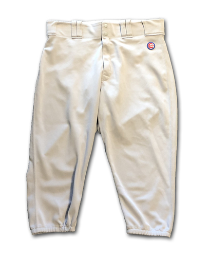 Kyle Schwarber Team-Issued Pants -- Road Grey -- Size 36-41-19 -- 2019 Season