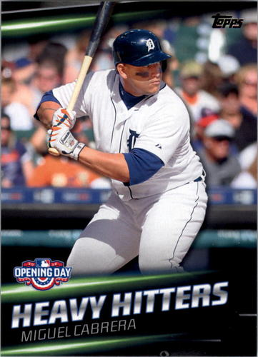 Photo of 2016 Topps Opening Day Heavy Hitters #HH3 Miguel Cabrera