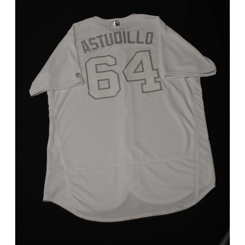 "Photo of Willians ""Astudillo"" Astudillo Minnesota Twins Team-Issued 2019 Players' Weekend Jersey"