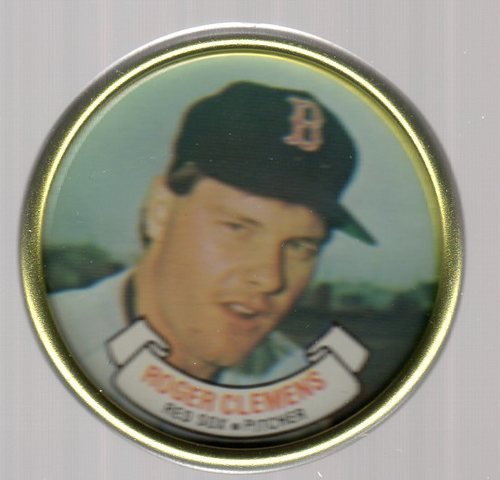 Photo of 1987 Topps Coins #8 Roger Clemens